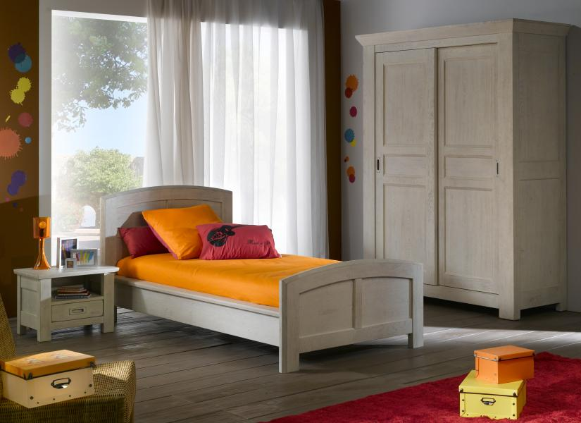 Dormitor Corso White