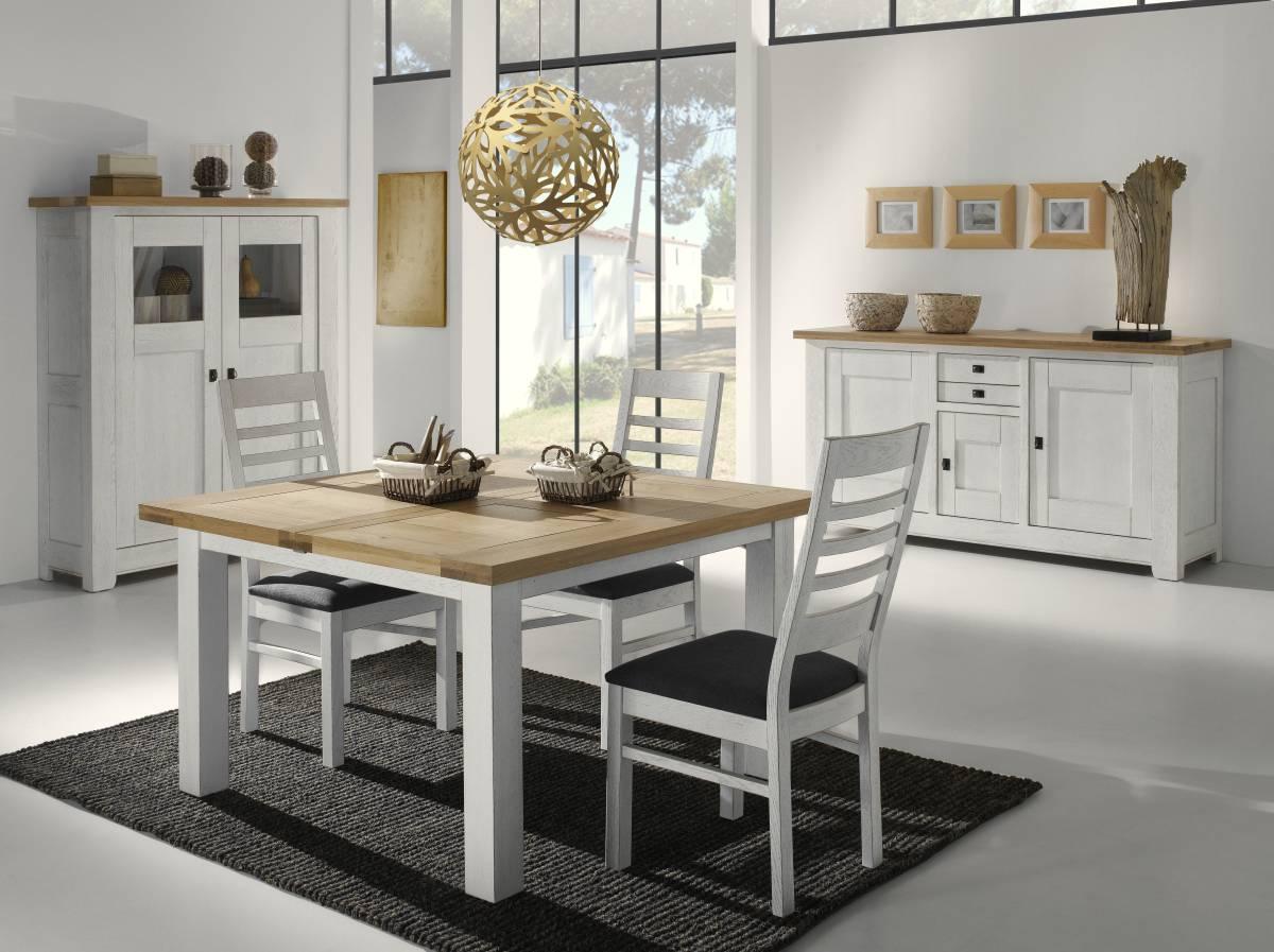 Mobila sufragerie dining lemn masiv stejar arhitect for Salle a manger en bois blanc