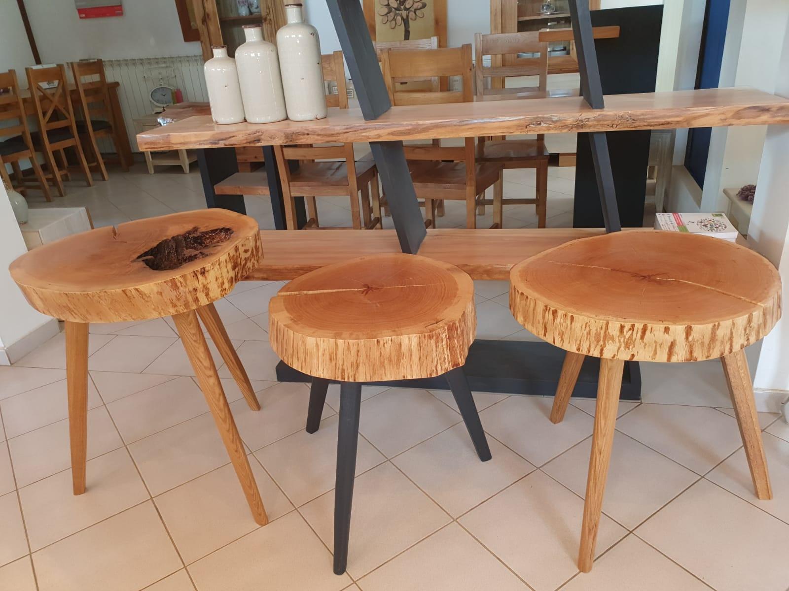 mese cafea RONDO lemn masiv