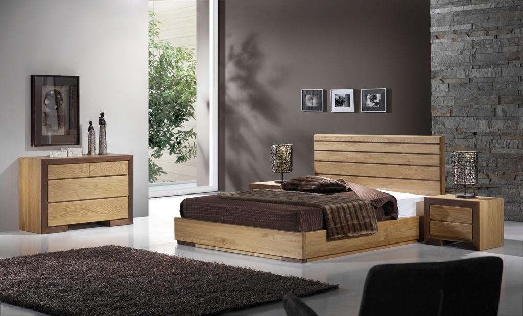 Dormitor lemn masiv HAVANA 1