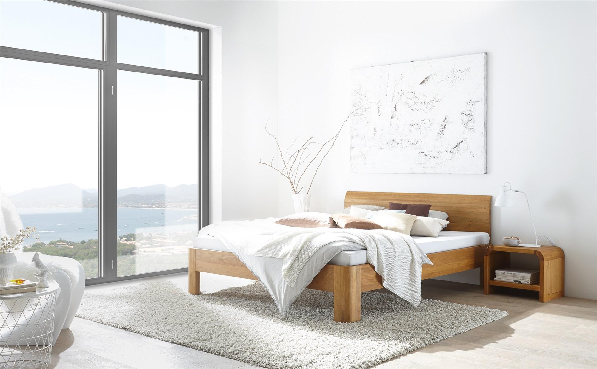 Dormitor lemn masiv BALI BRIGHT