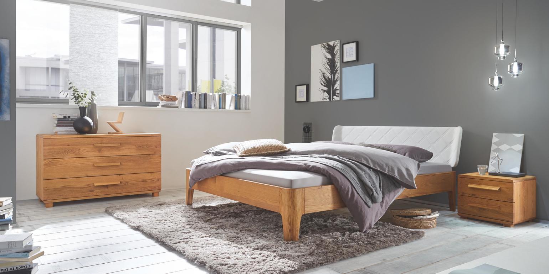 Dormitor lemn masiv MADRID