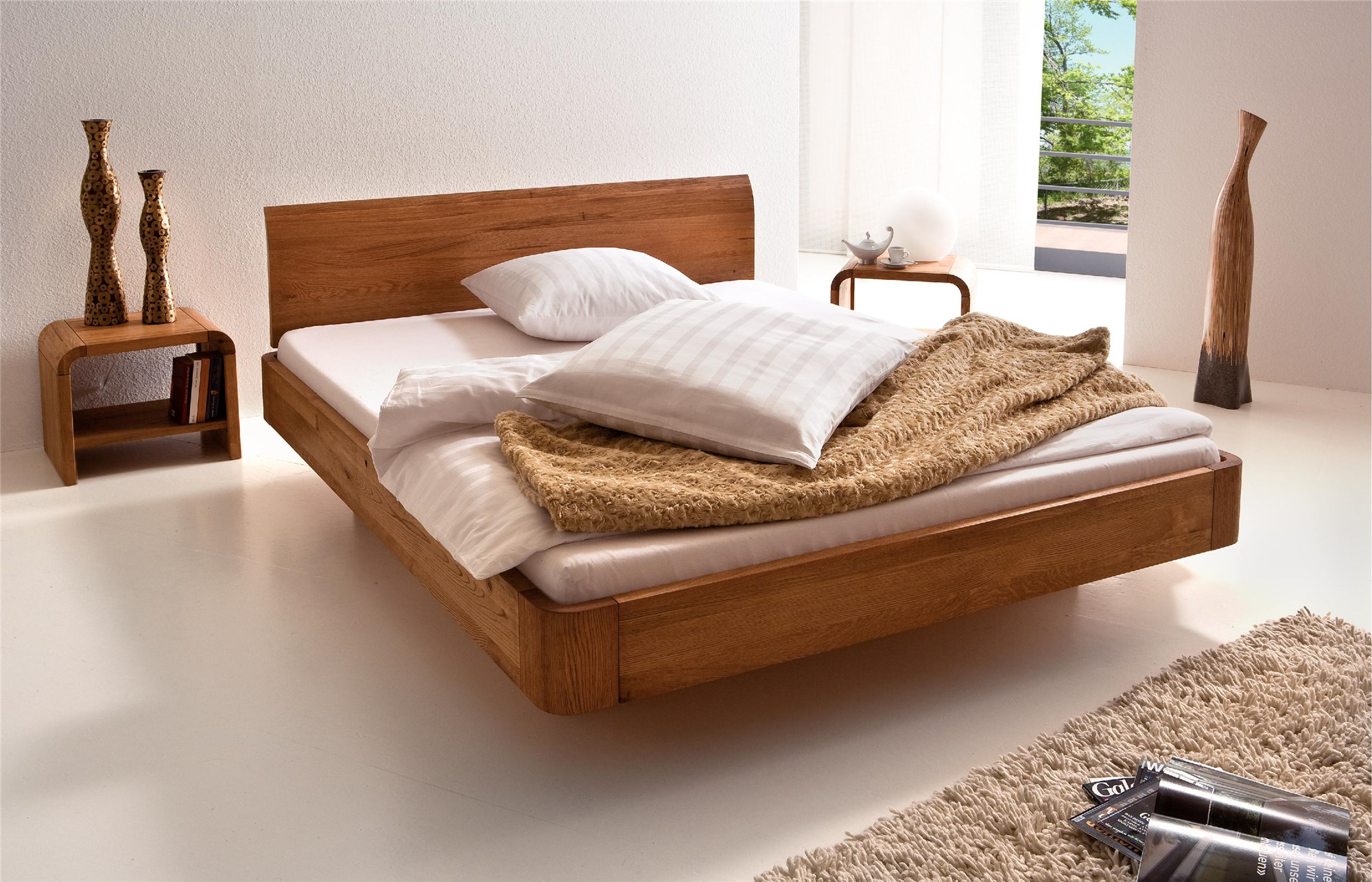 Dormitor lemn masiv SIDNEY