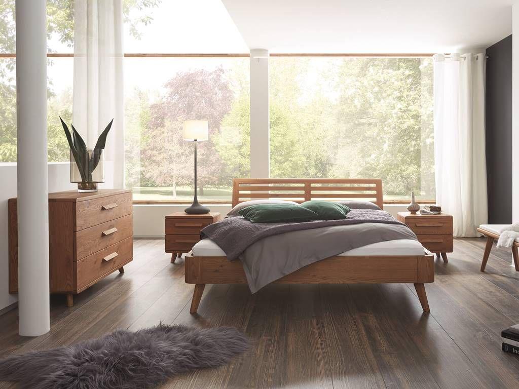 Dormitor lemn masiv BROOKLYN