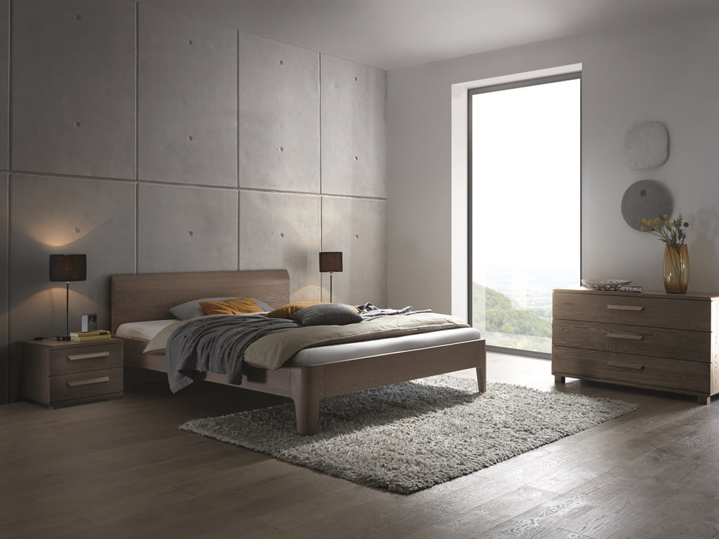 Dormitor lemn masiv IBIZA GREY
