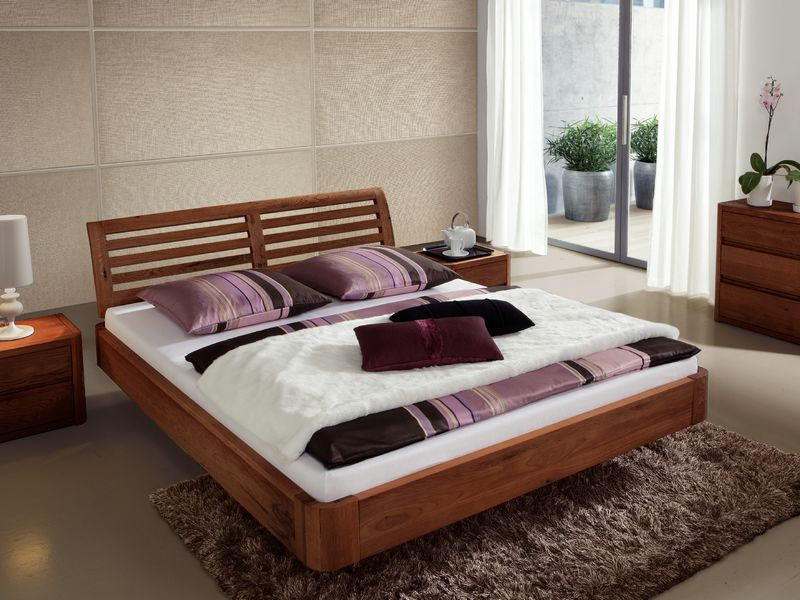 Dormitor lemn masiv MANHATTAN