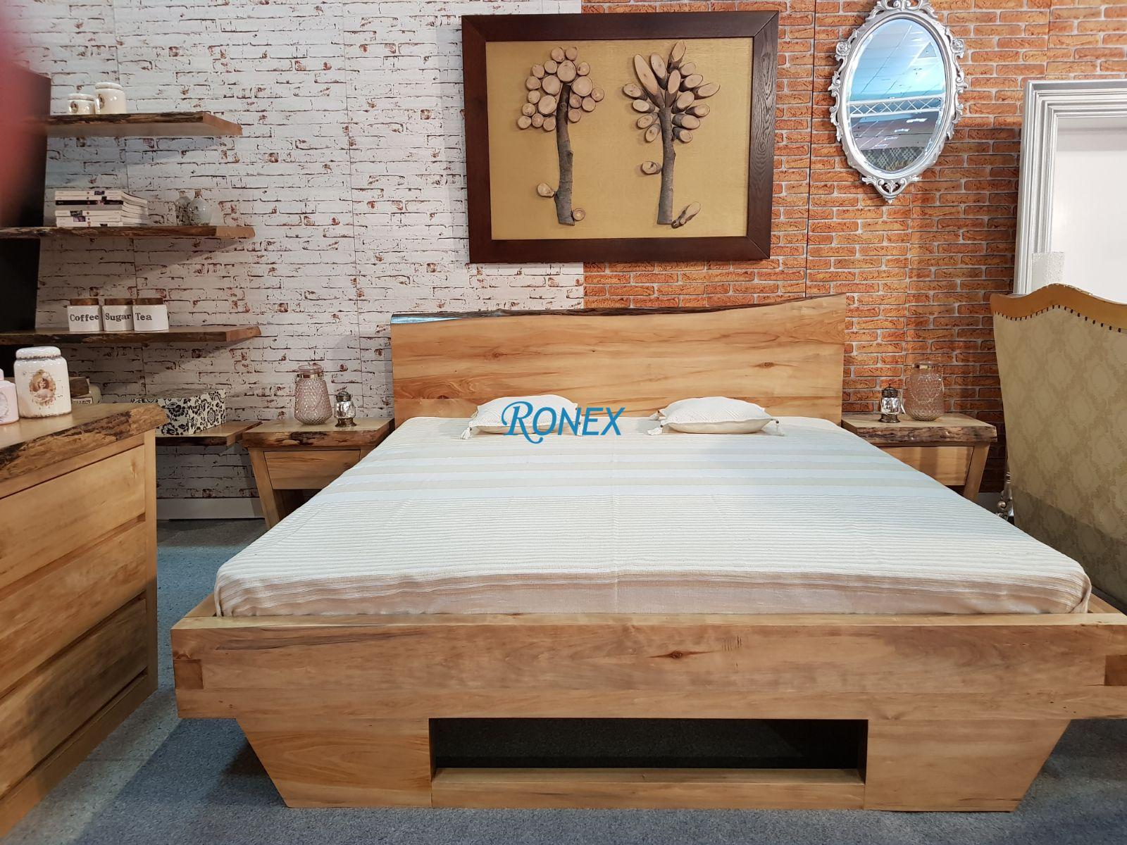 Mobilier dormitor ALSACIA stil industrial