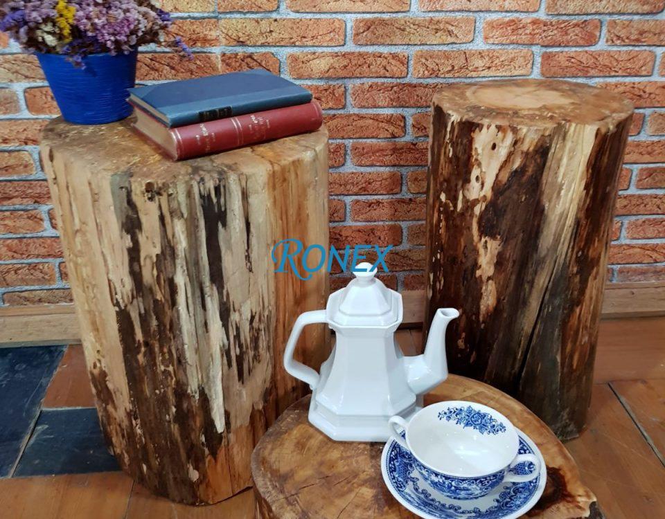 Măsuţă cafea/lampă BUSTENAS