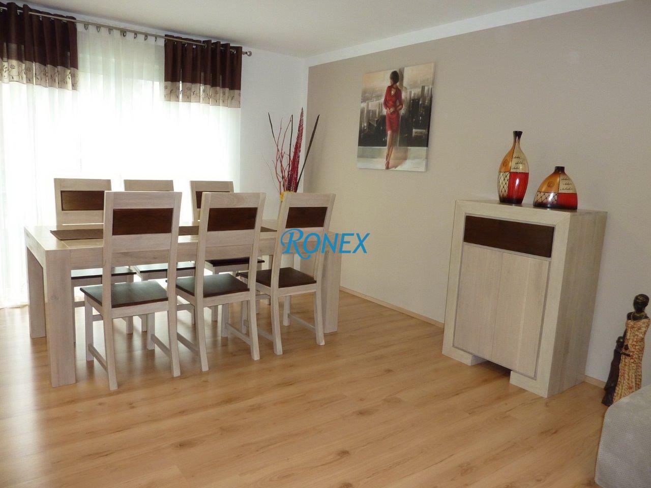 mobila living dining lemn masiv HAVANA WHITE
